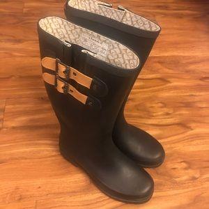 CHOOKA black rain boots size 7